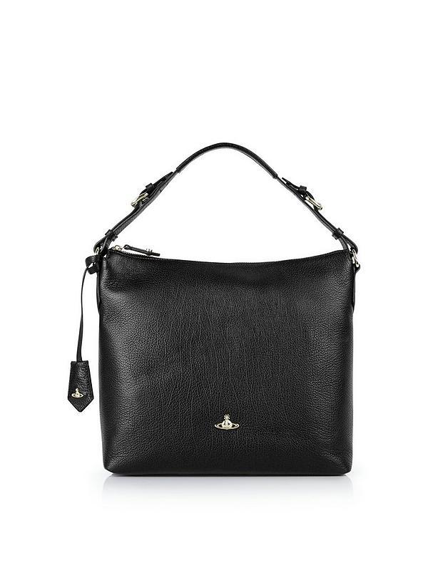 84f7ff919a6c VIVIENNE WESTWOOD Balmoral Hobo Bag- Black