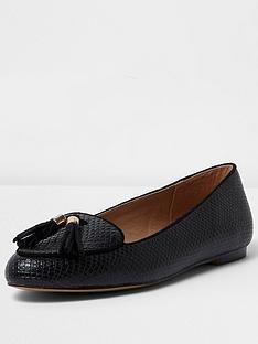 river-island-iro-velvet-ballet-flat-shoe