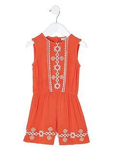 river-island-mini-girls-orange-embroidered-playsuit