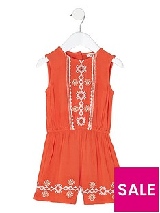 river-island-mini-girls-orange-embroidered-playsuit
