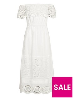 river-island-girls-white-lace-frill-bardot-maxi-dress