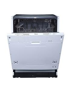 Swan SDWB7040W 12-Place Full Size Integrated Dishwasher - White Best Price, Cheapest Prices