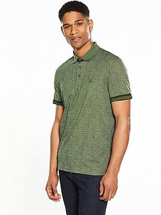 ted-baker-print-polo-shirt