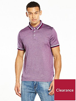 ted-baker-flat-knit-collar-polo-shirt