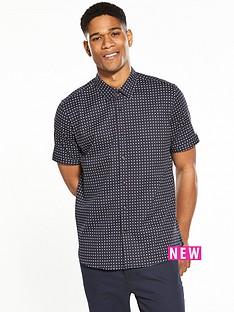 ted-baker-textured-geo-shortsleeve-shirt