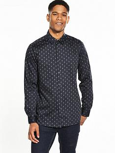 ted-baker-mens-monictt-diamond-printednbsplong-sleeve-shirt