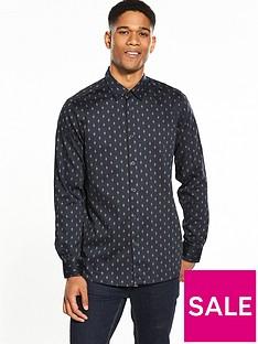 ted-baker-mens-monictt-diamond-printednbsplong-sleeve-shirt