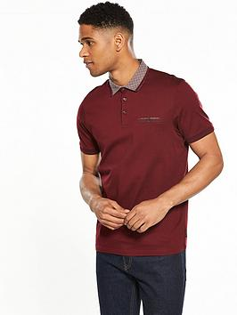 ted-baker-woven-collar-polo-shirt