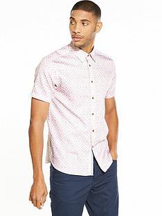ted-baker-geometric-shortsleeve-shirt