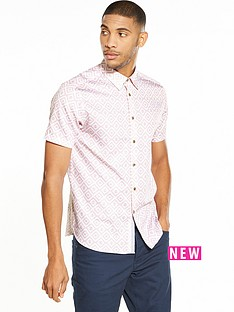 ted-baker-geometric-shortsleeve-shirt