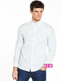 ted-baker-floral-print-shortsleeve-shirt