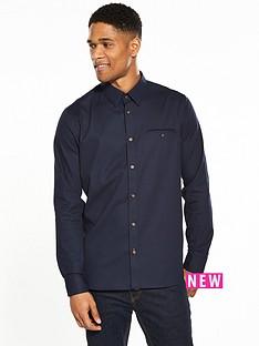 ted-baker-textured-longsleeve-shirt