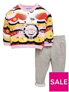 adidas-originals-adidas-originals-baby-girl-print-crew-top-and-pant-set