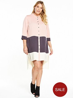 v-by-very-curve-curve-colour-block-dress
