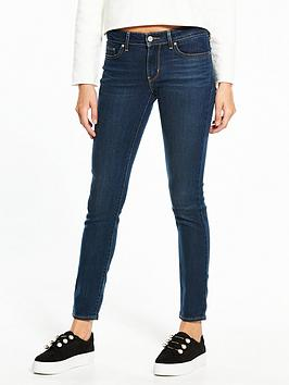 Levis 711 Skinny  City Blues