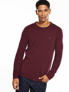 hilfiger-denim-tommy-hilfiger-denim-lambswool-knitted-jumper