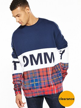 tommy-jeans-tommy-hilfiger-denim-tommy-cut-n-sew-tartan-sweat