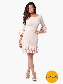 jessica-wright-riya-ruffle-shift-dress