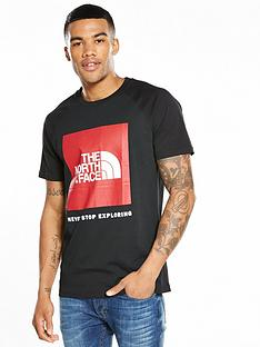 the-north-face-short-sleeve-raglan-red-box-t-shirt