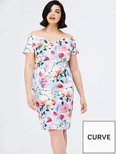 girls-on-film-curve-curve-rose-floral-printed-bardot-dress