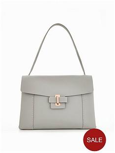 ted-baker-metal-keeper-clasp-shoulder-bag-light-grey