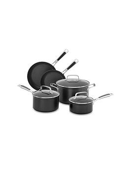 kitchenaid-hard-anodised-5-piece-pan-set