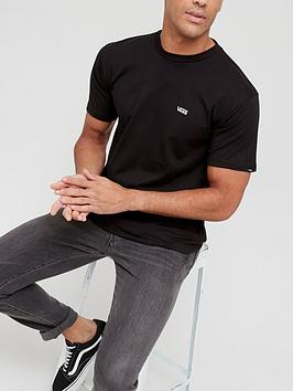 vans-small-logo-t-shirt-black
