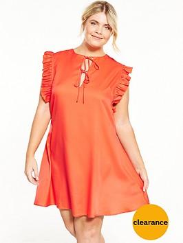 fashion-union-curve-fashion-union-curve-frill-sleeve-shirt-dress