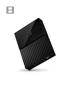 Western Digital My Passport 4TB Portable External Hard Drive - Black