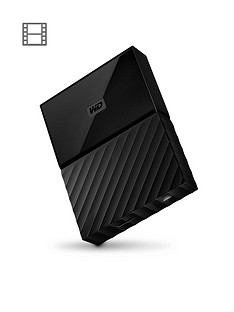 Western Digital My Passport 1TB Portable External Hard Drive - Black