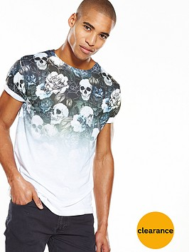river-island-faded-skull-print-slim-fit-tshirt