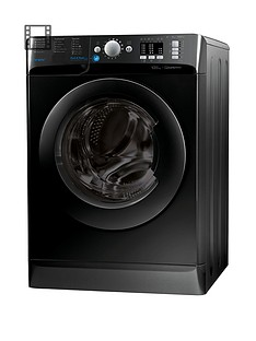 Indesit Innex BWA81683XK 8kg Load, 1600 Spin Washing Machine - Black, A+++ Energy Rating