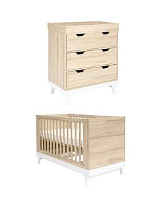 mamas-papas-lawson-cot-bed-and-dresser-changer