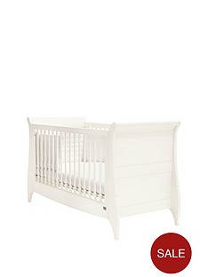 mamas-papas-oxford-sleigh-cot-bed-white