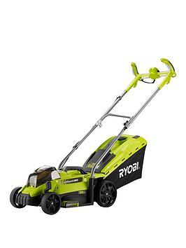 ryobi-18v-one-lawnmower-33cm-deck-1x40ah-battery-amp-charger
