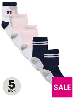 v-by-very-girls-collegiate-socks-5-pack