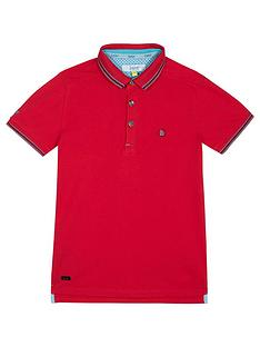 baker-by-ted-baker-boys-dark-pink-polo-shirt