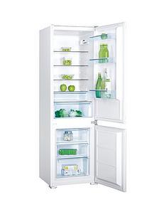 swan-srb8010w-54cm-wide-built-in-combi-fridge-freezer-white