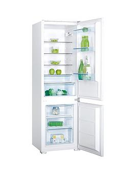 swan-srb8010w-54cm-wide-built-in-combi-fridge-freezer-white