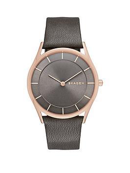 skagen-skagen-holst-grey-dial-grey-leather-strap-ladies-watch