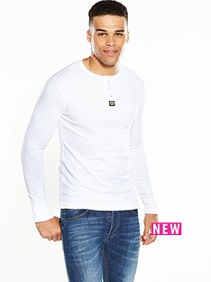 superdry-superdry-heritage-long-sleeved-grandad-tee