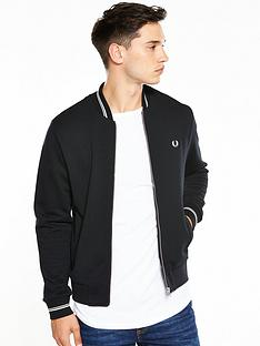 fred-perry-bomber-neck-sweat