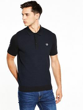 fred-perry-textured-knitted-polo