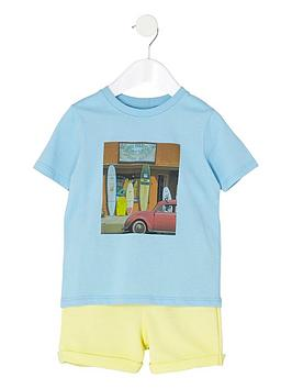 river-island-mini-boys-blue-t-shirt-and-shorts-outfit