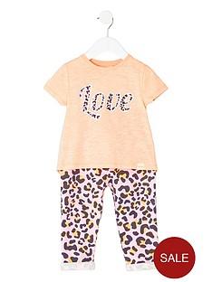 river-island-mini-girls-coral-print-t-shirt-amp-legging-outfit