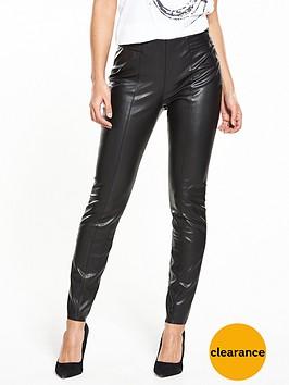 boss-orange-sellie-pu-trouser-blacknbsp