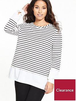 boss-tawoven-striped-top
