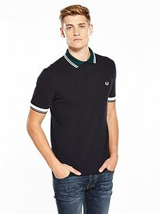 fred-perry-ribbed-trim-polo