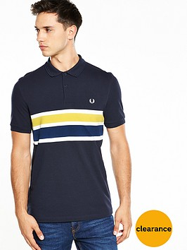 fred-perry-stripe-panel-polo