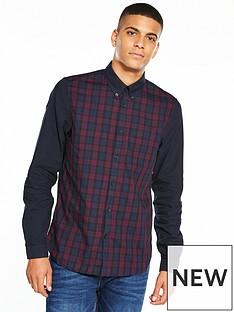 fred-perry-block-tartan-shirt